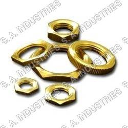 Brass Check Nut & Round Nut