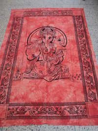 Ganesh Printed Tapestry From India