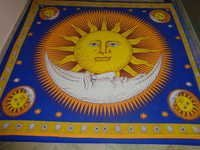SUN MOON GOOD MORNING TAPESTRY