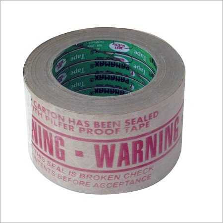 Red Warning Reinforcement Tape