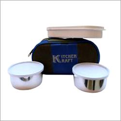 KItchen Kraft Office Steel Lunch Box