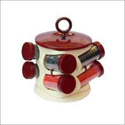 Round Spice Jar Set