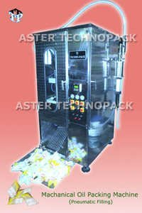 Automatic Mechanical Oil Pouch Packing Machine