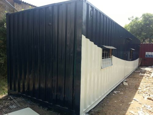 Furnished Office Containers With Attached Washroom