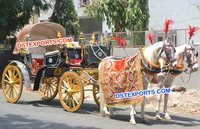 Wedding Black Gold Indian Buggy
