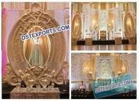 Wedding Stage Grand Panel Backdrop
