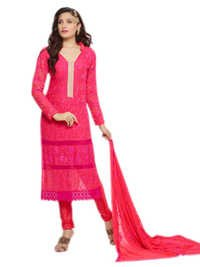 DESIGNER PINK STRAIGHT SUIT