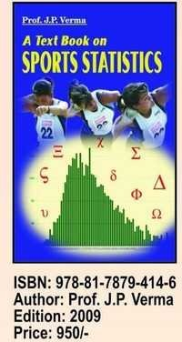 Text book on Sports Statistics