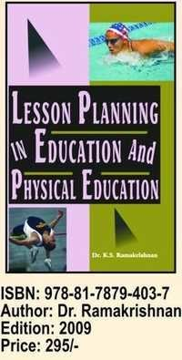 Lesson planing Education and Physical Education