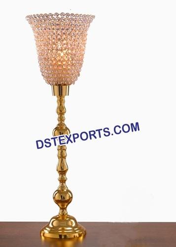 Wedding Golden Crystal Candlabra