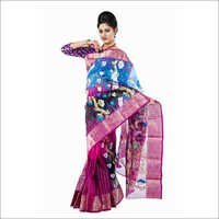 Tant Silk Saree