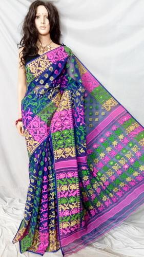 Pure Dhakai Muslin Saree