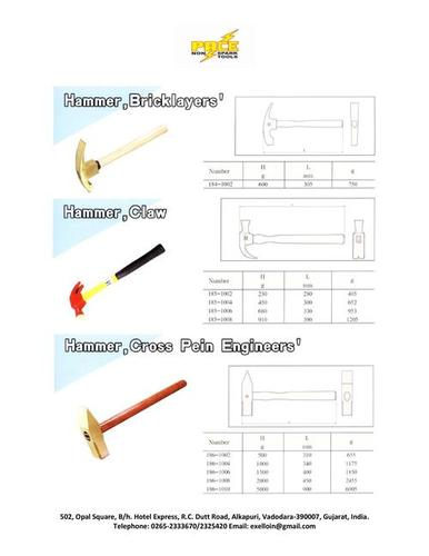 Non Sparking Hammers
