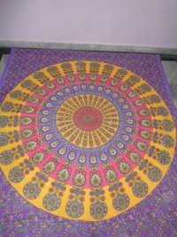 PRINTED MANDALA TAPESTRY NEW