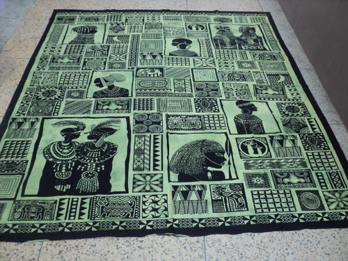 EGYPTIANS PRINTED TAPESTRY FROM INDIA
