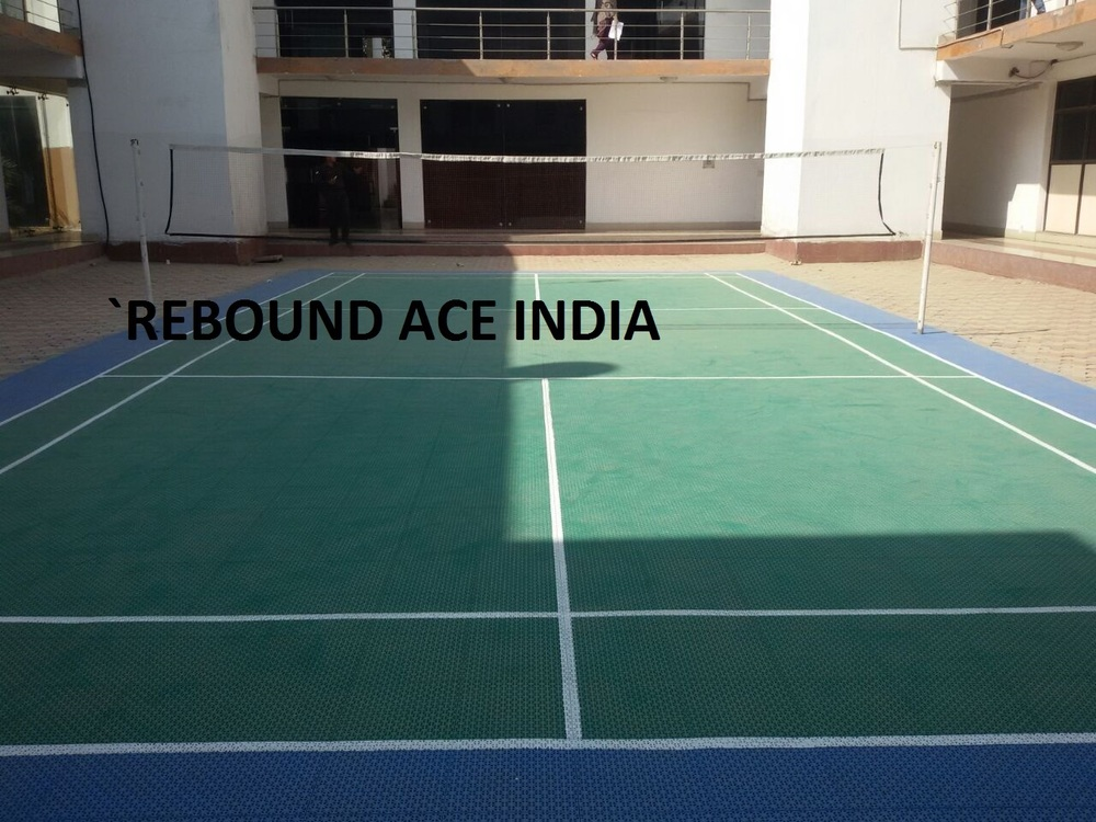 Indoor Badminton Flooring with Modular Tiles