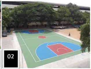 Basketball Court Cushion Flooring