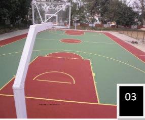 Basketball Court Surface