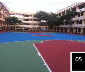 Basketball Floor Installation