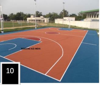 PU Basketball Court