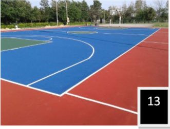 Synthetic Basketball Surface