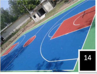 Basketball Surface Construction