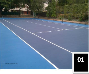 Lawn Tennis Court Flooring