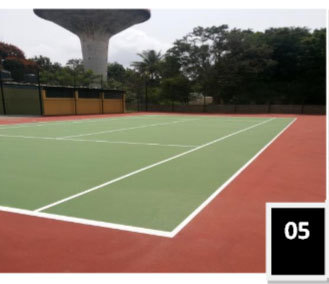 Lawn Tennis Surface