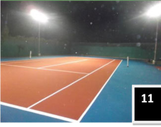 Outdoor Tennis Flooring