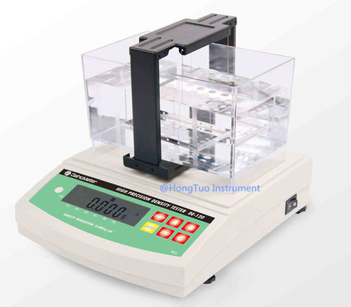 Digital Electronic Densimeter for Solids