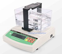 Digital Electronic Densimeter for Solids