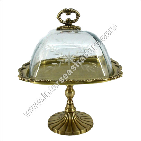 Brass Cake Stands