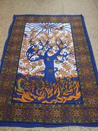 MAGIC TREE LIFE TAPESTRY FROM INDIA