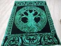 CELTIC TREE OF LIFE BEDSHEETS FROM INDIA