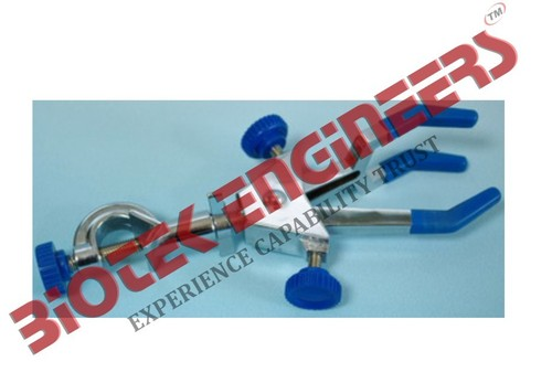 DOUBLE ADJUSTABLE TWO THREE PRONG CLAMP WITH BOSSH