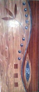 Digital Wooden Membrane Doors