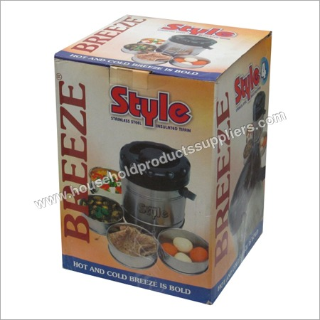 Insulated Steel Lunch Box