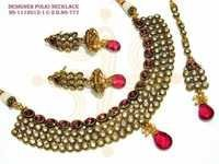 Desiner Polki Neckales Set