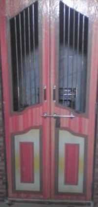 Safety Wooden Door