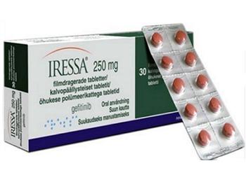 Iressa Gefitinib 250 mg Tablets