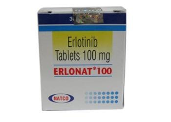 Erlotinib Tablets 100 mg Natco