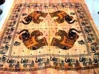 HAND PRINTED BEDSHEETS TAPESTRY INDIAN