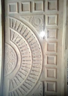 Carving Traditional Wood Door
