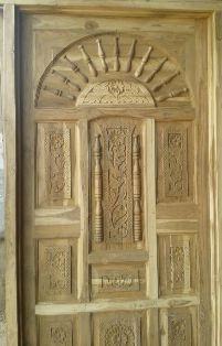 Sagvan Modern Rajwadi Wood Door