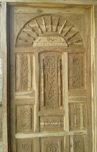 Sagvan Modern Rajwadi Wood Door