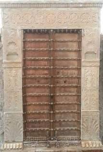Traditional Rajwadi Wooden Gate