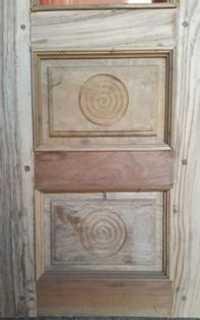 Wooden Window Door