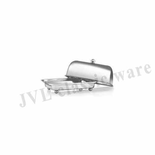 Stainless Steel Covered Butter Dish
