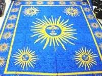 SUN PRINTED TAPESTRY FROM INDIA