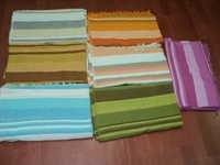 COTTON HANDLOOM BEDSHEETS STRIPES